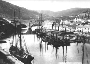 Helmsdale Harbour c1890s copy